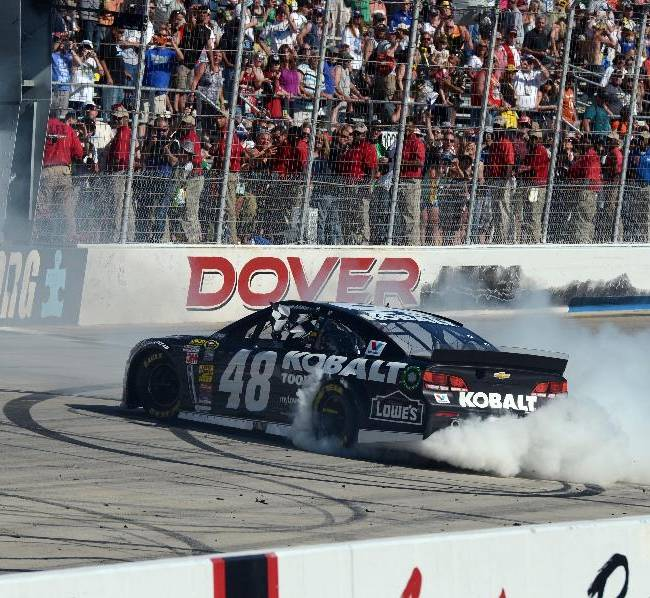 Johnson builds on track record with 9th Dover win