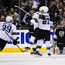 Sharks beat Kings 4-3 in OT, take 3-0 series lead The Associated Press