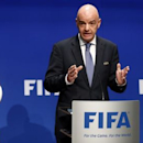 Infantino plays down violence fears at 2018 World Cup in Russia (Reuters)