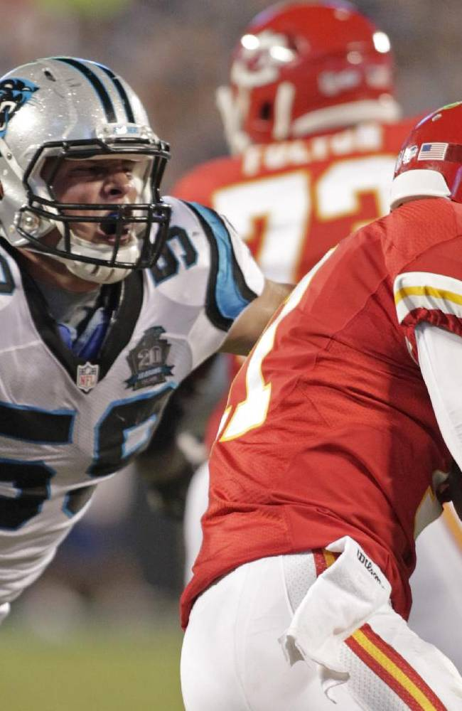 Kuechly, Wagner bring intensity to NFC divisional playoffs
