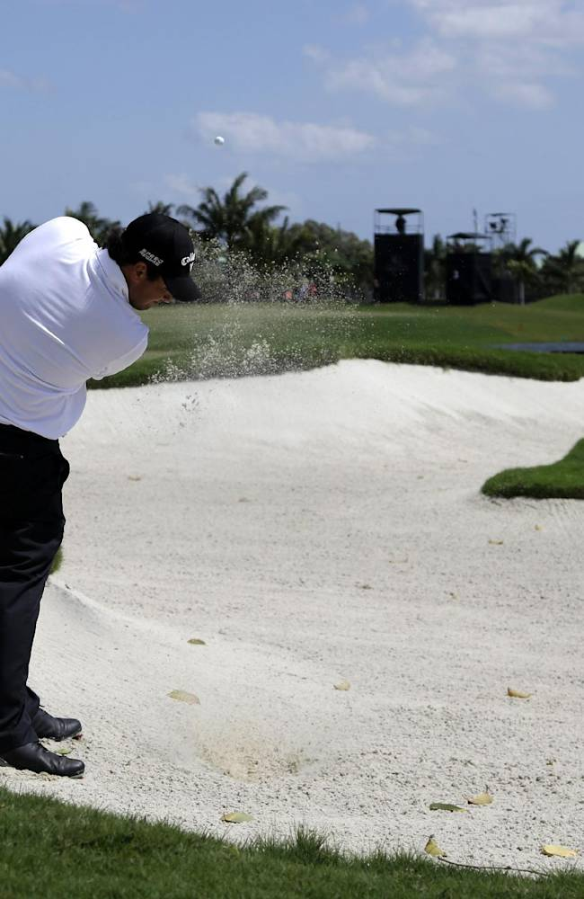 A day of survival at Doral