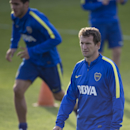 Rodolfo Arruabarrena, attends his first training session as new head coach for Argentina's Boca Juniors, in Buenos Aires, Argentina, Friday, Aug. 29, 2014. Arruabarrena became the new head coach for Boca Juniors, replacing Carlos Bianchi fired after a 3-1