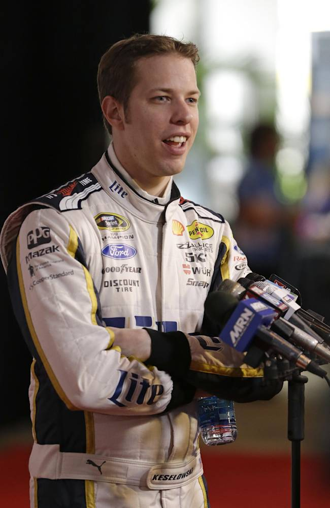 Keselowski speaking up behind closed doors