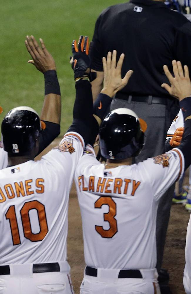 Losers no more, Orioles celebrate AL East title