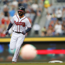 Markakis hits 1st homer of 2015, Braves top Dodgers 7-5 The Associated Press