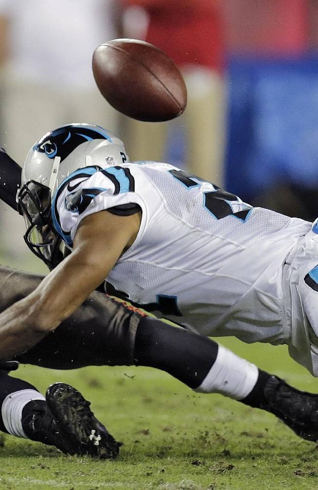 Panthers Mitchell: I'm being 'targeted' by Goodell