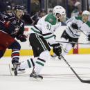 Seguin's 3 goals, Benn's 3 points lift Stars, 4-2 The Associated Press