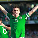 Watch Robbie Keane cap record-breaking appearance with hat trick