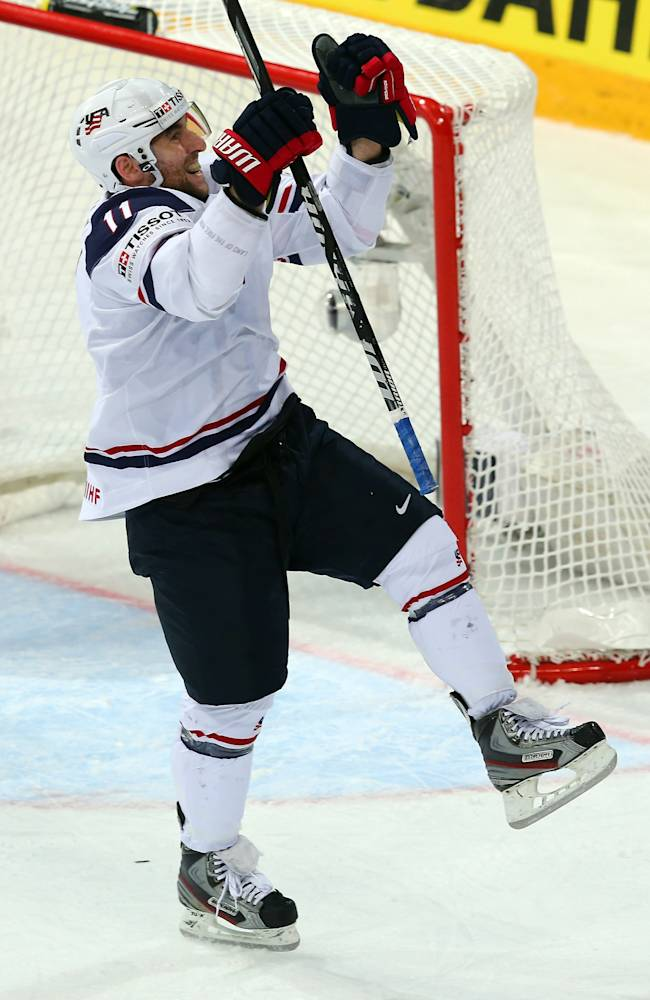 USA v France - 2013 IIHF Ice Hockey World Championship