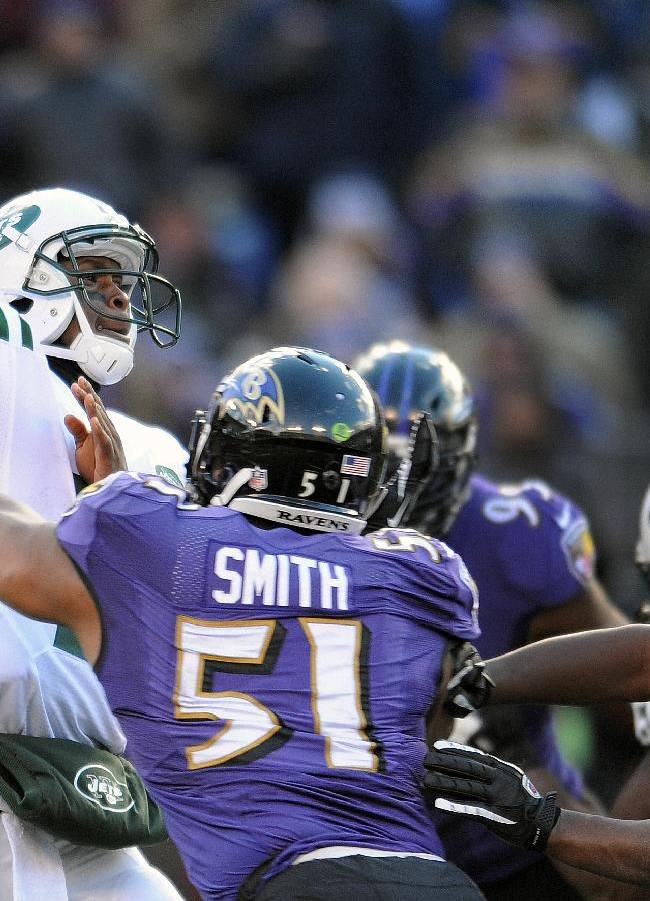 Jets' Smith not feeling limited by lack of passes