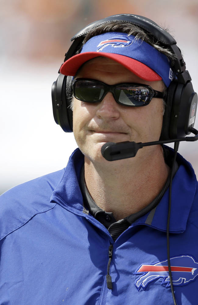 Bills' Marrone eager to face mentor in New Orleans