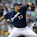 Garza, Brewers lose 5-2 to Twins The Associated Press