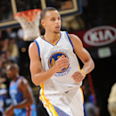 OAKLAND, CA - DECEMBER 18: Stephen Curry #30 of the Golden State Warriors during the game against the Oklahoma City Thunder on December 18, 2014 at Oracle Arena in Oakland, California. (Photo by Noah Graham/NBAE via Getty Images)
