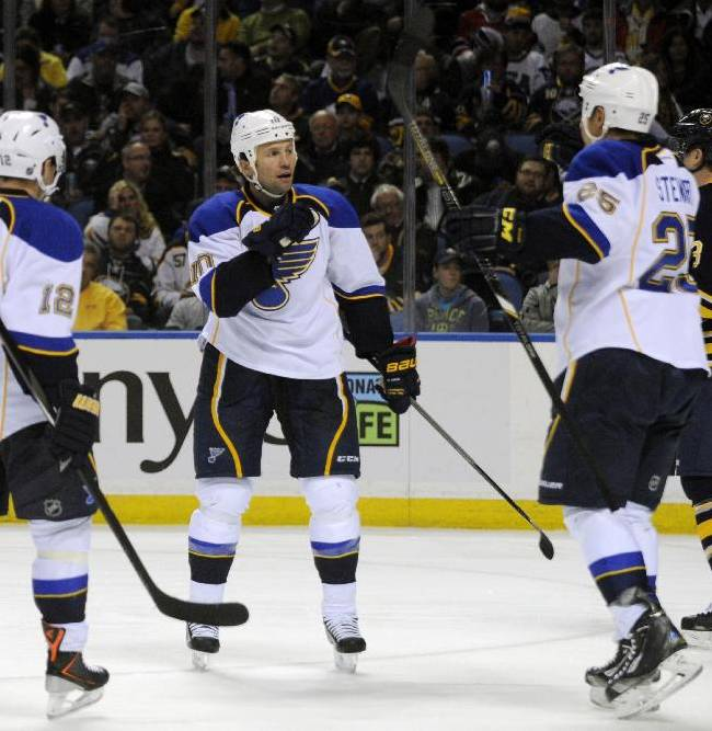 Blues too much for Sabres 4-1