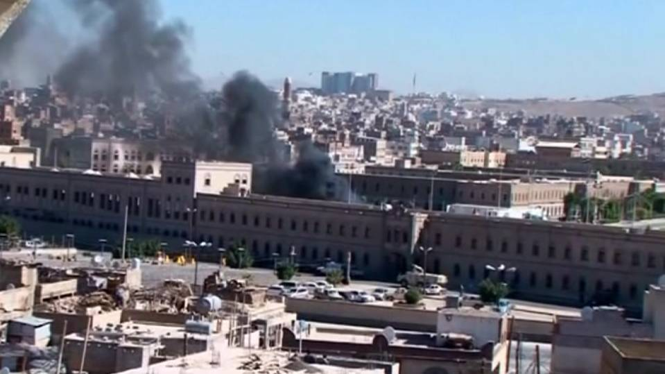Attack on Yemen's Defense Ministry
