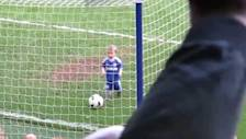 Fans Cheer Ross Turnbull's Son as He Scores Adorable Goal
