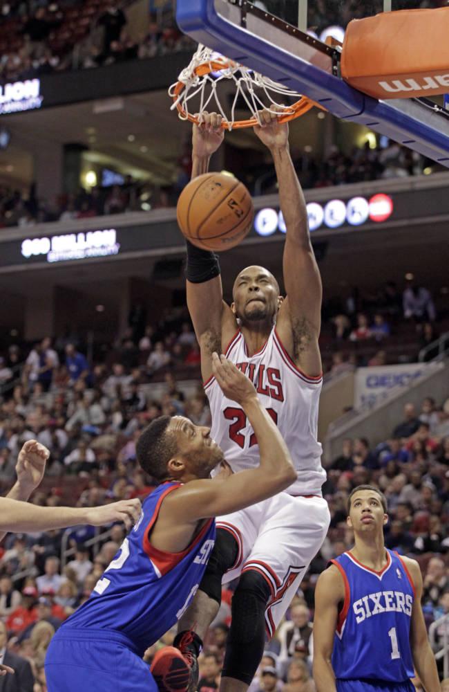 76ers win again, beat Bulls