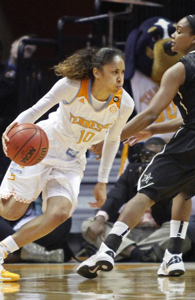 No. 8 Lady Vols breeze past No. 16 Vandy 81-53