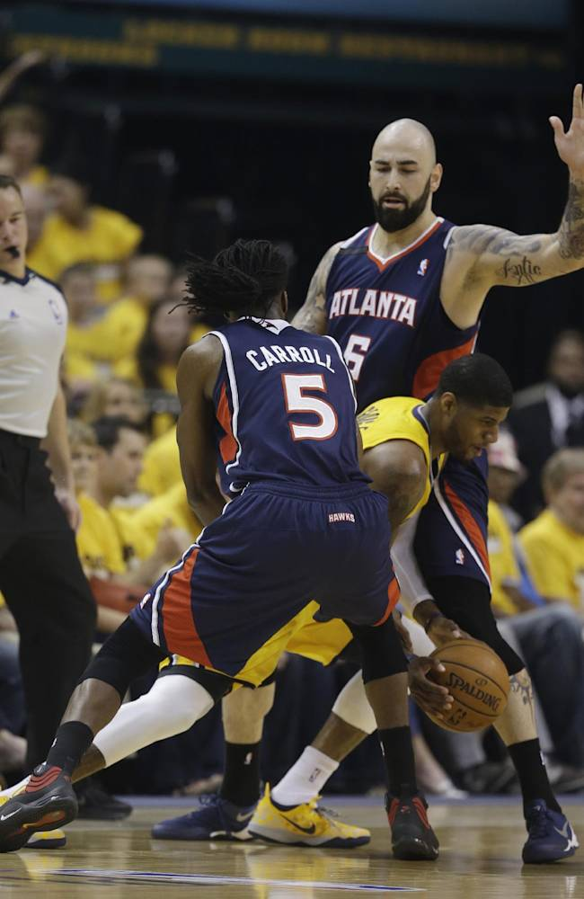 Pacers seeking solution for Hawks 3-point shooters