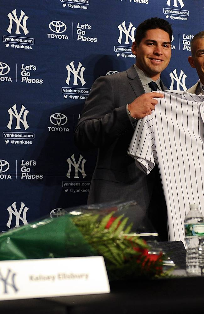 New York Yankees Introduce Jacoby Ellsbury