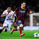 Sociedad coach Arrasate wants to 'make life difficult' for Messi