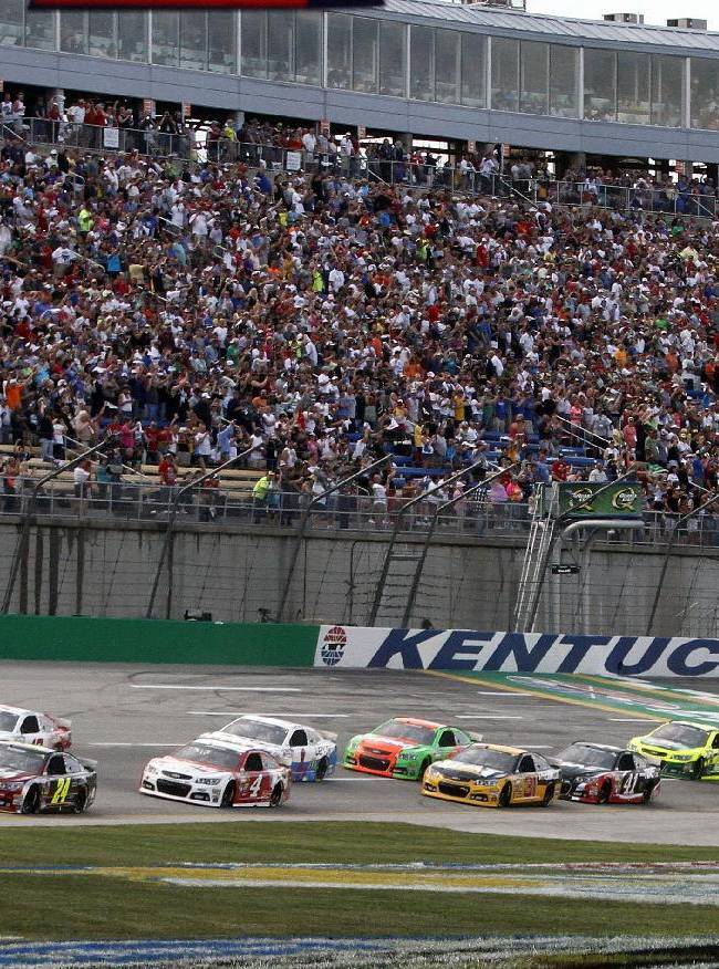 NASCAR to go to lower downforce for July race at Kentucky