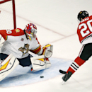 Without Crawford, Blackhawks top Panthers 6-2 The Associated Press