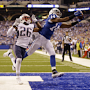 Patriots lead Colts 14-10 at halftime The Associated Press