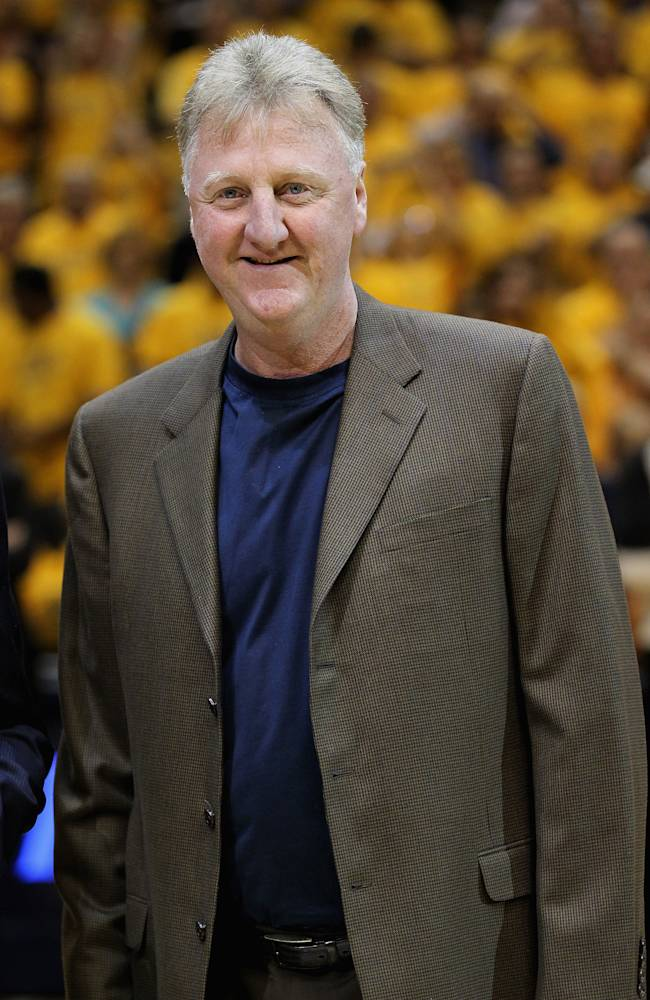 FILE: Larry Bird Leaving Pacers, Walsh To Return