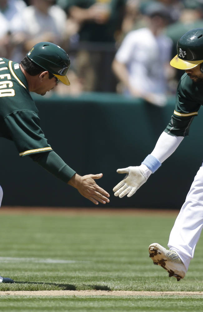 Norris, Crisp power A's past Yankees