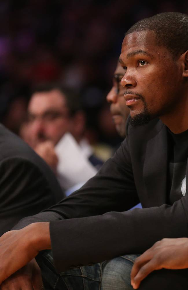 Thunder's Durant still out; Westbrook could return Wednesday