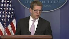 Jay Carney Tells the Press 'You're Smart'