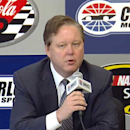 Brian  France discusses innovation, tight racing