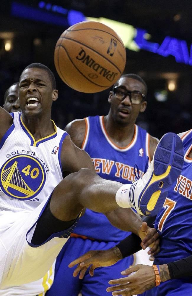 Knicks beat Warriors 89-84, eye final playoff spot