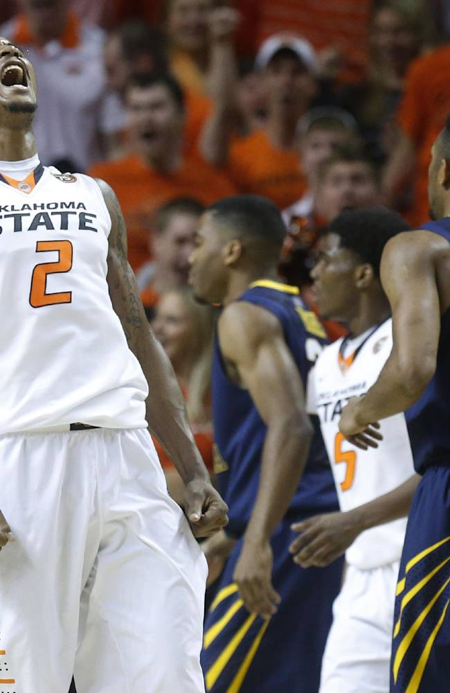 Nash's 29 leads No. 11 Oklahoma State past WVU