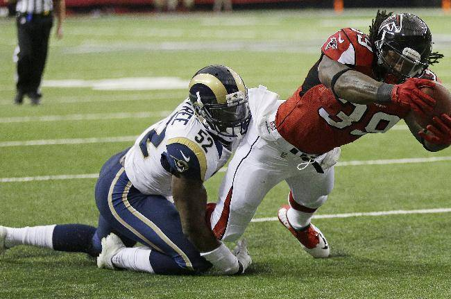 Falcons LB Weatherspoon out at least 8 weeks