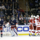 Brassard's OT goal lifts Rangers over Red Wings The Associated Press