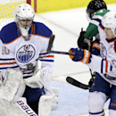 Oilers G Bryzgalov leaves with injury vs. Stars The Associated Press