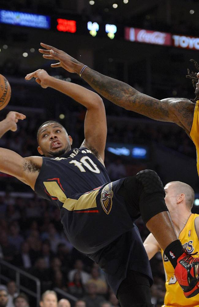 Jordan Hill leads Lakers' 116-95 rout of Pelicans
