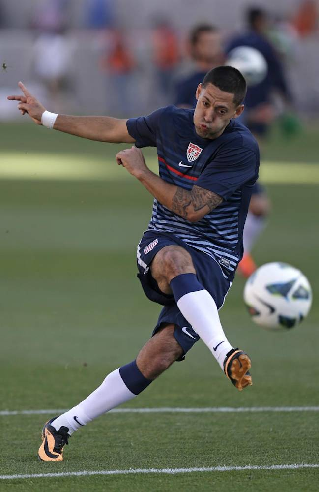 AP Interview: Clint Dempsey trying to regain form