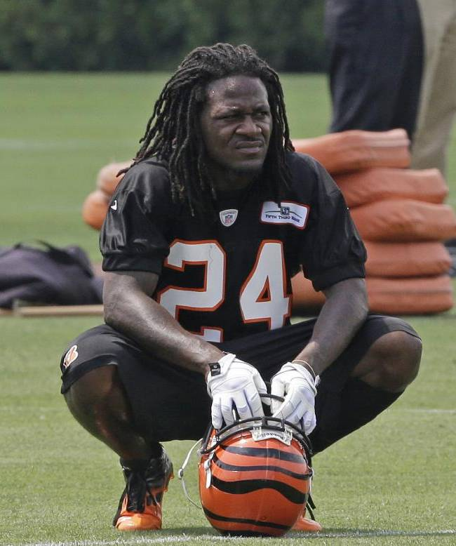 In this June 12, 2013, file photo, Cincinnati Bengals cornerback Adam