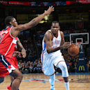 Durant scores 34, leads Thunder past Wizards The Associated Press