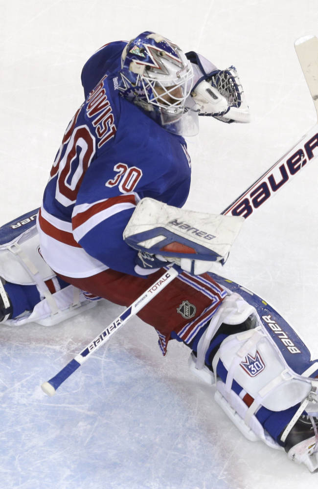 Kings have no answer for Lundqvist