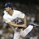 Los Angeles Dodgers starting pitcher Dan Haren follows through on a delivery to the Philadelphia Phillies during the third inning of a baseball game Thursday, April 24, 2014, in Los Angeles The Associated Press