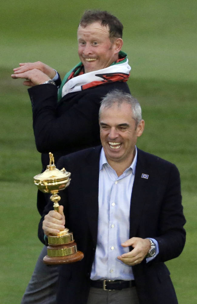 McGinley had control of European Tour tee times