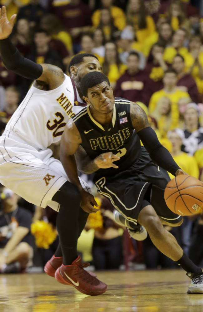 Minnesota holds on to beat Purdue 82-79
