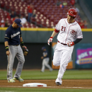 Cueto wins 19th, Reds beat Brewers 3-1 The Associated Press