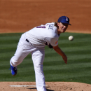 Los Angeles Dodgers starting pitcher Zack Greinke throws to a New York Mets batter during the second inning of a baseball game, Saturday, July 4, 2015, in Los Angeles. (AP Photo/Mark J. Terrill)