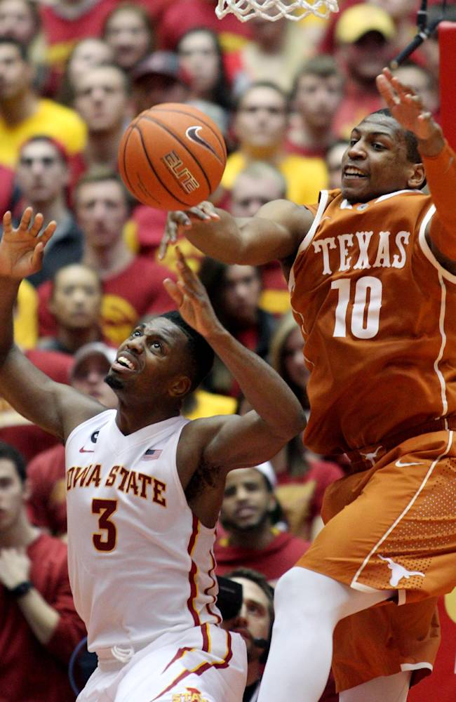 No. 17 Iowa State shows improved post play