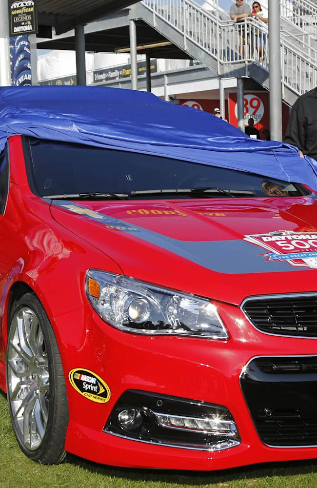 Chevy believes pinched wire caused pace car fire